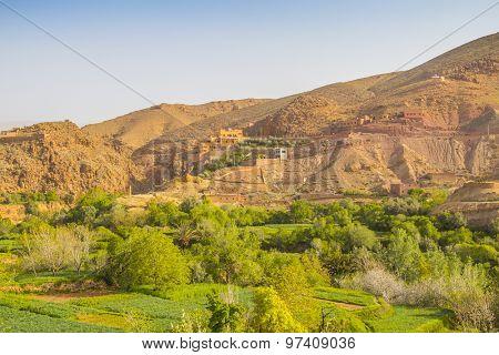 Dades Gorge, Morocco  - landscape