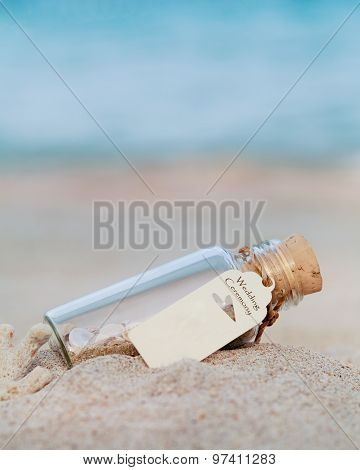 Wedding Invitation Or Wedding Gift , Venue On The Beach .