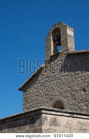 Medieval Campanile With Belfry