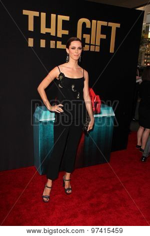 LOS ANGELES - JUL 30:  Rebecca Hall at the