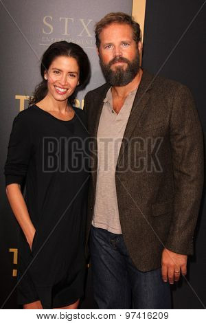 LOS ANGELES - JUL 30:  David Denman, Mercedes Masohn at the