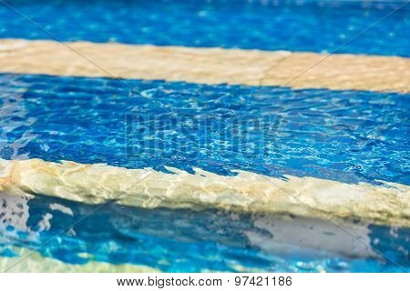 Clear Transparent Swimming Pool