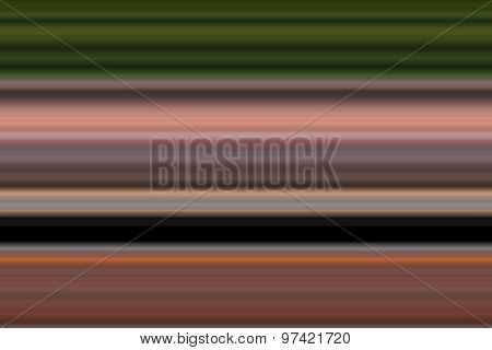 Abstract Colorful Blur Horizontal Stripes Background