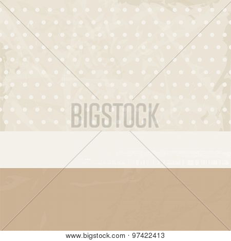 Retro background paper beige brown