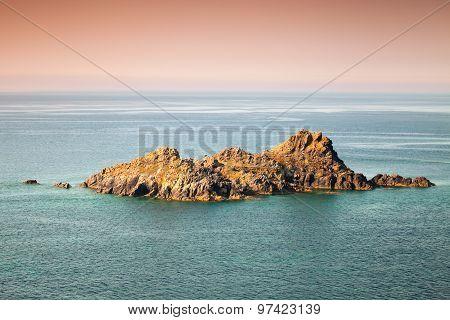 Small Rocky Island. Sanguinaires, Ajaccio, Corsica