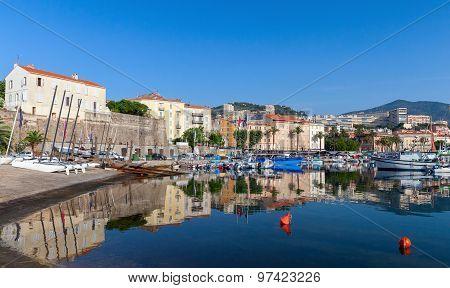Ajaccio, Old Port, Corsica Island, France