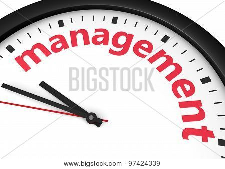 Time Management Business Concept