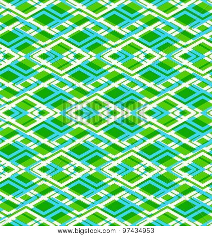 Geometric symmetric lined seamless pattern, colorful vector endless background. Decorative