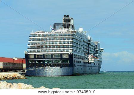 Cruise Ship Zuiderdam in Jamaica