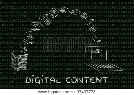 Digital Content: Scanning Paper And Turning It Into Data