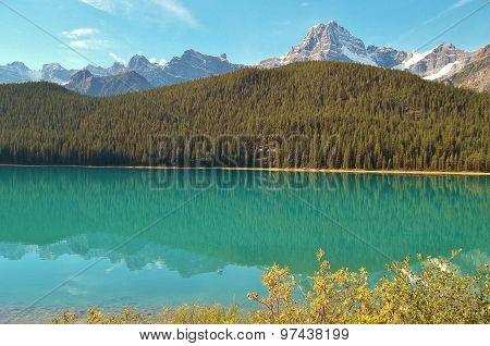 GLACIAL LAKE IN CANADA