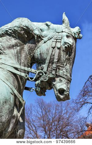 Rienzi General Phil Sheridan Horse Statue Sheridan Circle Embassy Row Washington Dc