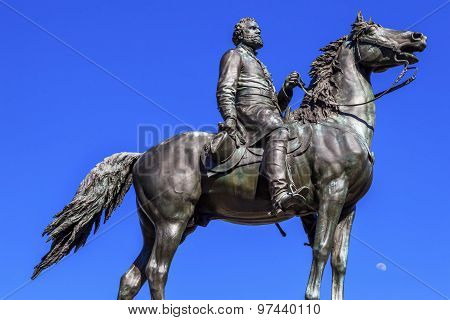 Major General George Henry Thomas Civil War Statue Moon Thomas Circle Washington Dc
