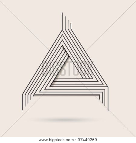 Abstract Vector Logo.