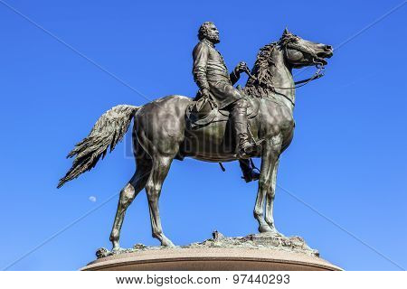 Major General George Henry Thomas Civil War Statue Thomas Circle Washington Dc