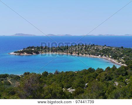 The Kosirina bay of the Croatian island Murter