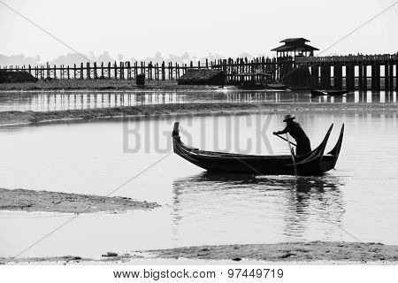 Burmese Boatman