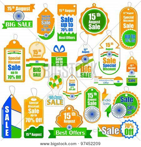 Promotional and advertisement sale tag