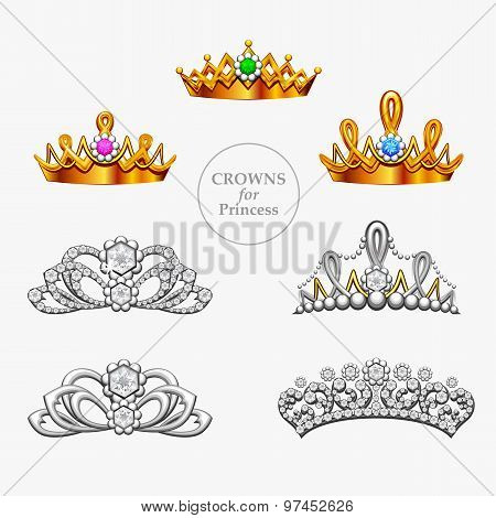 Seven Crowns For A Princess
