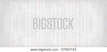 Wooden Planks Light Grey With Vertical Lines, Panorama Format
