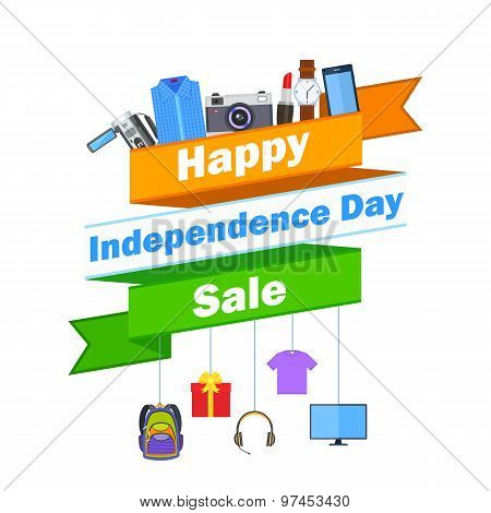 Promotional and advertisement for Independence Day of India