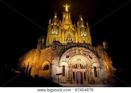 Expiatory Temple Of The Sacred Heart (barcelona)