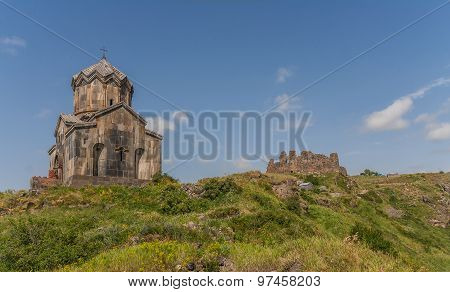 Amberd Fort Church And Ruins