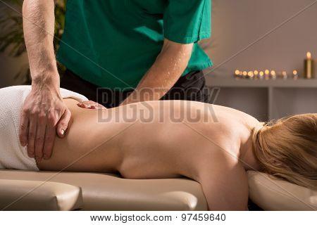 Having Spa Treatment