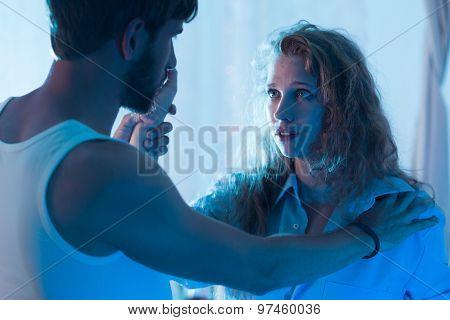 Man Wanting To Make Up
