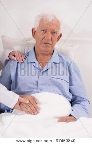 Man During Hospitalization