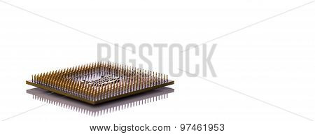 Computer cpu (central processor unit) chip background