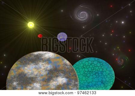 Star system.