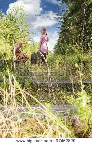 Children On The Railway