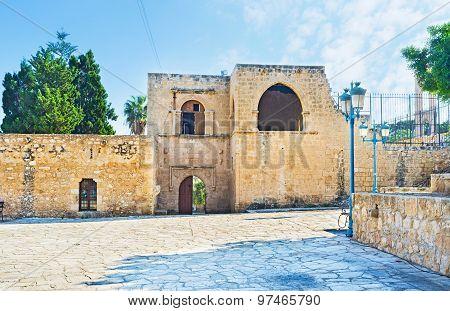 The Monastery Wall