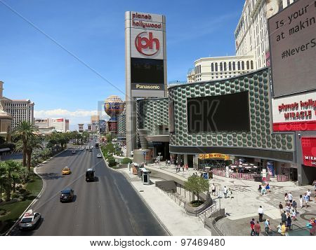 Planet Hollywood Hotel Miracle Mile And Paris Hotel