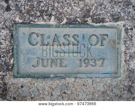 Graduate Class Of 1936