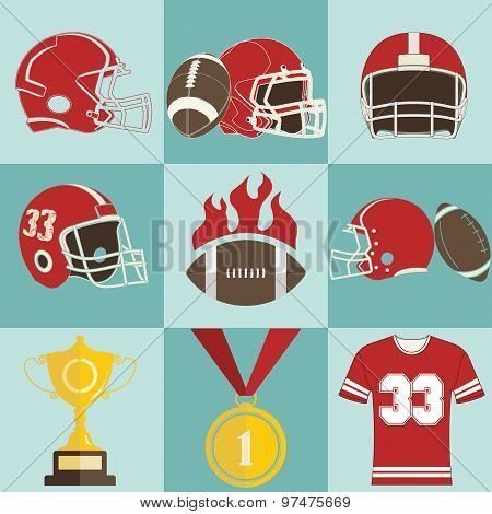 Football game icons