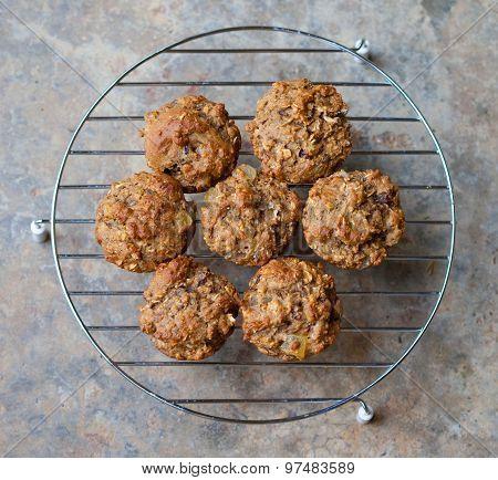 Fresh Baked Bran Muffins