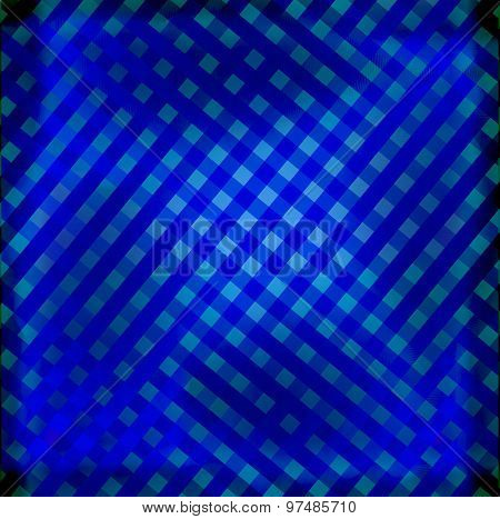 Pattern grid dark blue