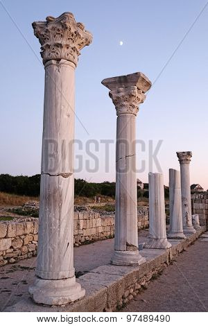 Ruins of Chersonese in Sevastopol, the Crimea