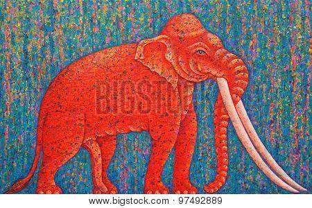 Red Elephant
