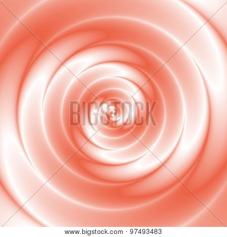 Amazing Red And White Colored Spiral