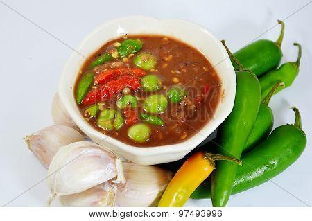 shrimp paste chilli sauce
