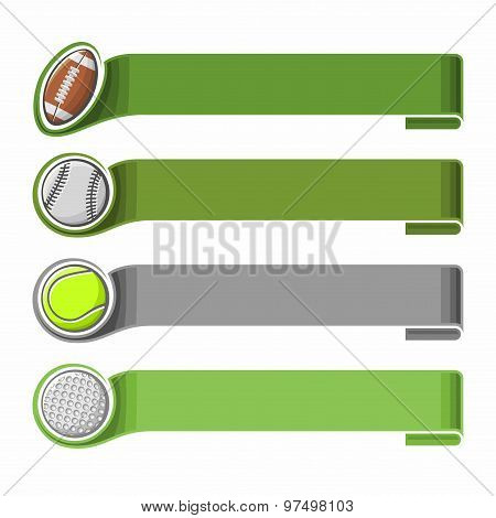Sports background for text