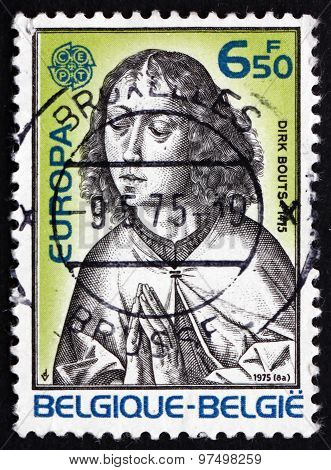 Postage Stamp Belgium 1975 St. John, By Dieric Bouts