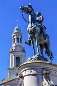 Постер, плакат: Major General George Henry Thomas Civil War Statue National City Christian Church Thomas Circle Wash