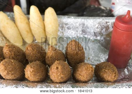 Street Food Typical Domnican Republic