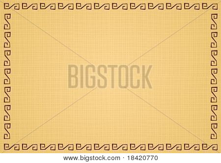 Vector illustration of beige ethnic background