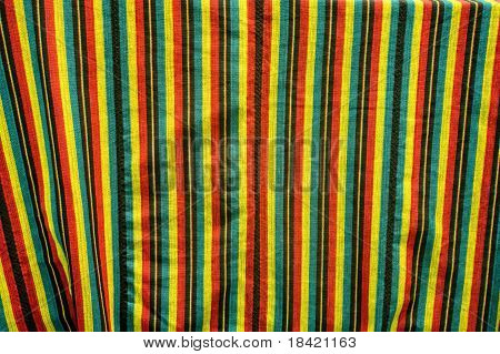african cloth with rich pattern