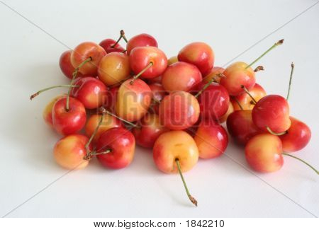 Pile Of Rainier Cherries